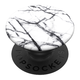 PopSockets PopGrip -pidike, Dove White Marble